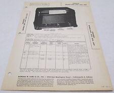 Vintage Photofact Folder Learadio Models 6614 6615 6616 6619 Radio Parts Manual