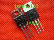 50 pair J78 K215 Transistor HITACHI TO-220 2SJ78 2SK215