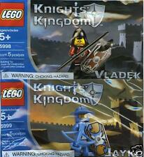 LEGO Knights Kingdom Castle 5998 Vladek + 5999 Jayko