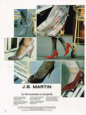 PUBLICITE ADVERTISING  1979   J.B  MARTIN   chaussures