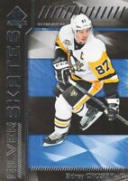 2016-17 SP Authentic Silver Skates #SS-SC Sidney Crosby Pittsburgh Penguins
