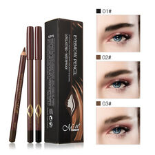 12pcs/Box Waterproof Eye Brow Eyeliner Eyebrow Pen Pencil Makeup Cosmetic Tools