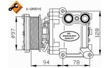 NRF Compresor, aire acondicionado FORD FIESTA 32724