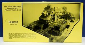 Fine Scale Miniatures #295 Fox Run Milling Co Craftsman Kit NIB 1 Owner