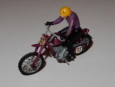 Mattel Hot Wheels Rrrumblers Motocross Yamaha lila RAR !!!