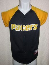 Indiana Pacers baseball-style Jersey size YOUTH Medium by Majestic