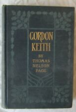 Gordon Keith Thomas Nelson Page Charles Scribners Sons 1903