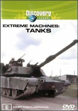 Extreme Machines - Tanks (DVD, 2003) - Region 4