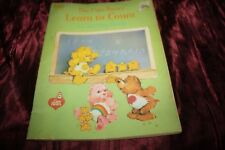 1984 Care Bears learn to color coloring book unused