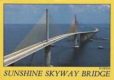 "*Florida Postcard-""The Sunshine Skyway Bridge"" /15.1 Mile-Long/ (U2-107)"