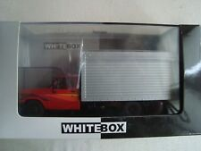 NEW CAMIONNETTE CHEVROLET  D 40 ROUGE ARGENT 1/43 WHITEBOX  WHT 267