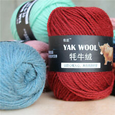 Knitting Crochet yak wool cashmere 100g Super baby strong cotton Chunky yarn new