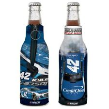 Kyle Larson 2018 Wincraft #42 Credit One Bank 12oz Bottle Cooler FREE SHIP