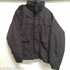 Men's Winter Parka Jacket Coat Large Tall BROWN SPIEWAK EMS Police Fire NYC