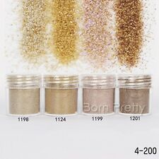 10ml Nail Art Glitter Powder Brown Coffee Sequins Tips Manicure Decoration
