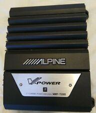 Alpine V-Power MRP-T220 2/1 Channel Power Amplifier for Car