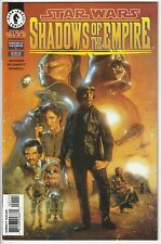 1996 Dark Horse STAR WARS SHADOWS OF THE EMPIRE 1 Comics NM 1st Prince Xizor