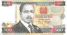 Kenya 500 Shilingi 1995 Unc pn 33