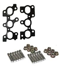 Exhaust Manifold Stud Nut Kit With OE Exhaust Gaskets Fits Toyota Aristo 2JZGTE