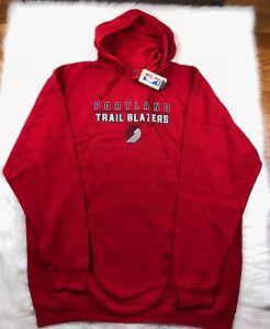 Portland Trail Blazers G-III Pullover Fleece Hoodie Red Big & Tall Men's 3XLT
