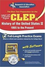 CLEP History of the United States II w/CD REA - The Best Test Prep for the CLE