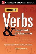 Wheatley, Julian Chinese Verbs & Essentials of Grammar