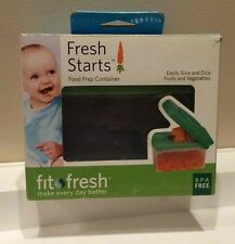 NEW Fresh Starts Baby Food Prep Container Slice/Dice/Chop Fruits & Vegetables