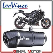 Exhaust Leovince Lv One Evo Carbon Fiber Suzuki Gsx S 750/Z Abs 2017 > 2019
