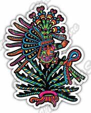 "Maya Civilization Mayan Art Aztec Indian Car Bumper Vinyl Sticker Decal 3.6""X5"""