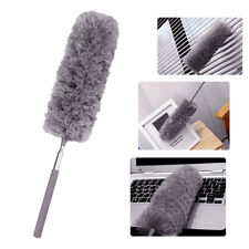 JW_ Telescopic Extendable Microfiber Duster Dusting Brush Desk Car Cleaning To
