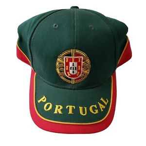 One Size Sporting Clube de Portugal Adjustable Snapback Team Color Curved Bill Soccer Hat Green