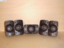 Logitech Z906 z5500 4x front rear Satellit + 1x center speaker Lautsprecher ©