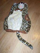 Size 24 Months Plush Leopard Cheetah Halloween Costume Vest EUC