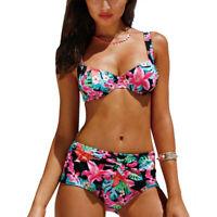 Women Two Piece Swimwear Padded Push Up Bikini Set Beach Swimsuit Bathing Suit