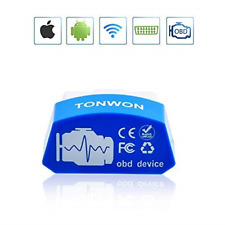 TONWON Wi-Fi OBD2 Scan Tool Car Diagnostic Scanner Check Engine Light Connects