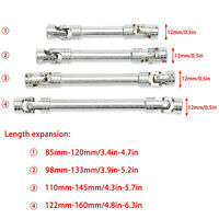 Metal Drive Shaft Parts for 1/10 RC Crawler Car Traxxas TRX4 Axial SCX10 D90 TF2