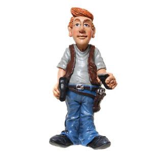 Straßenkehrer Straßenfeger Straßenreiniger 17 cm Beruf Funny Figur