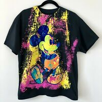 VTG Disneyland Resort Men's Large Shirt Multi-Color Mickey Mouse Disney World