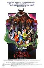 Walt Disney's The Black Cauldron movie poster print  :  11 x 17 inches