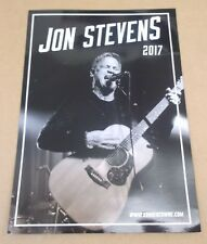 JON STEVENS Starlight 2017 UK promo only A4 press kit Dave Stewart Ringo Starr