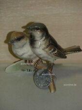 +# A010210_54 Goebel Archiv Muster Vogel zwei Sperlinge Sparrow 38-281 Plombe