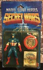 """Vintage Marvel Super Heroes Secret Wars Captain America 4"""" Figure Mattel 1984"""
