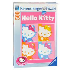 RAVENSBURGER PUZZLE HELLO KITTY POP ART 500 PEZZI 36x49 CM 14x19 IN  ART 14103