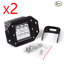 JDM ASTAR 1620Lm 24W Square Waterproof Offroad White LED Work Light Spot Fog DRL