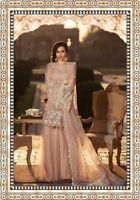 New Pakistani  designers bridal wear heavy embroidered salwar kameez