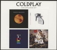 Coldplay - 4 CD Catalogue Set 4CD NEU & OVP Best Of Greatest Hits