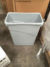 Recycling Bin Grey By Rubbermaid 60 Litre Slim Jim Bin FG3541
