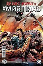 EVIL DEAD 2 REVENGE OF THE MARTIANS COVER A ONE SHOT SPACE GOAT PUBLISHING 2016