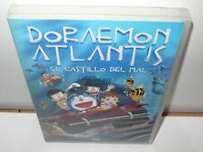 doraemon atlantis - el castillo del mal - dvd