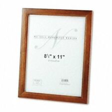 """Nu-dell Solid Oak Hardwood Frame - 8.50"""" X 11"""" Frame Insert - (nud15815)"""